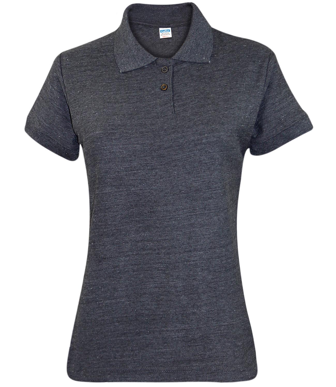 New Ladies Pique Polo Shirt PK Tee Collar Neck plus Sizes ...