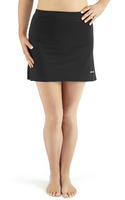 Bohn Swimwear Simple A-Line Swim Skirt UV Protect Black & Navy 10-24 Plus Sizes Thumbnail 3