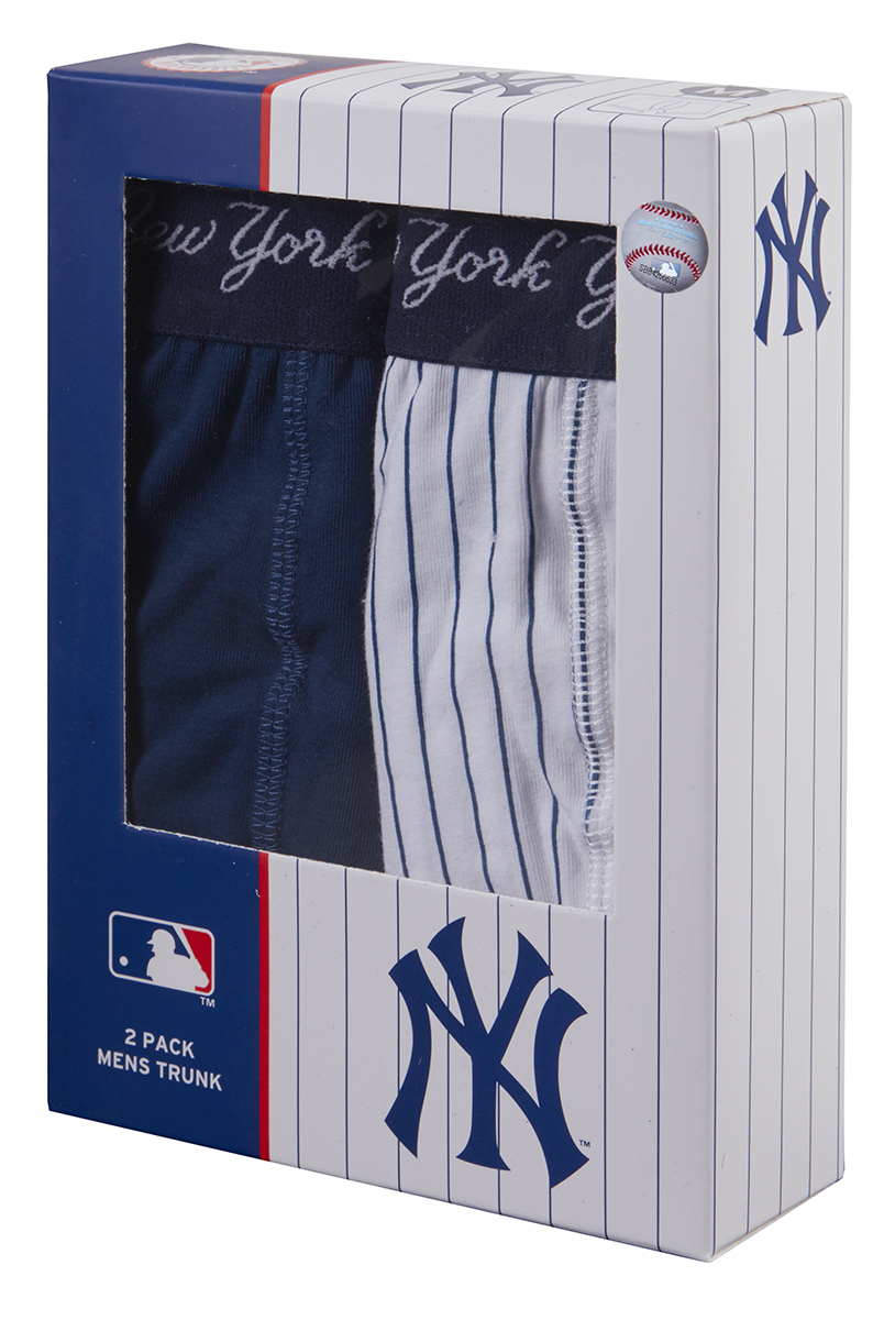 NEW YORK YANKEES NYY 2 Pack Mens Boxer Shorts Trunks Designer Underwear  Cotton f66a8c5946c