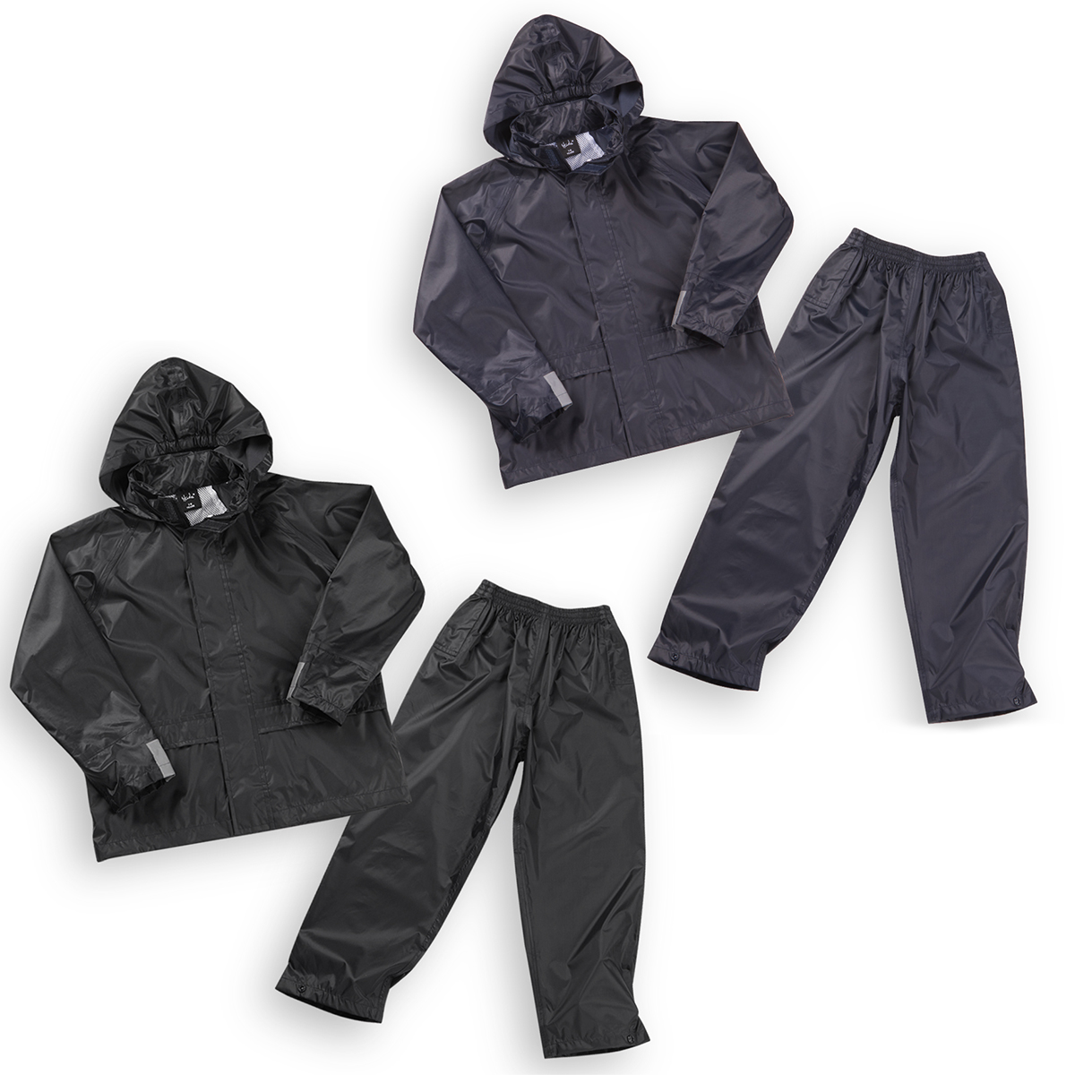 e5836a15e5b3 Boys Kids Waterproof Tracksuit Jacket Coat Trousers Pants Set Outdoor  Camping
