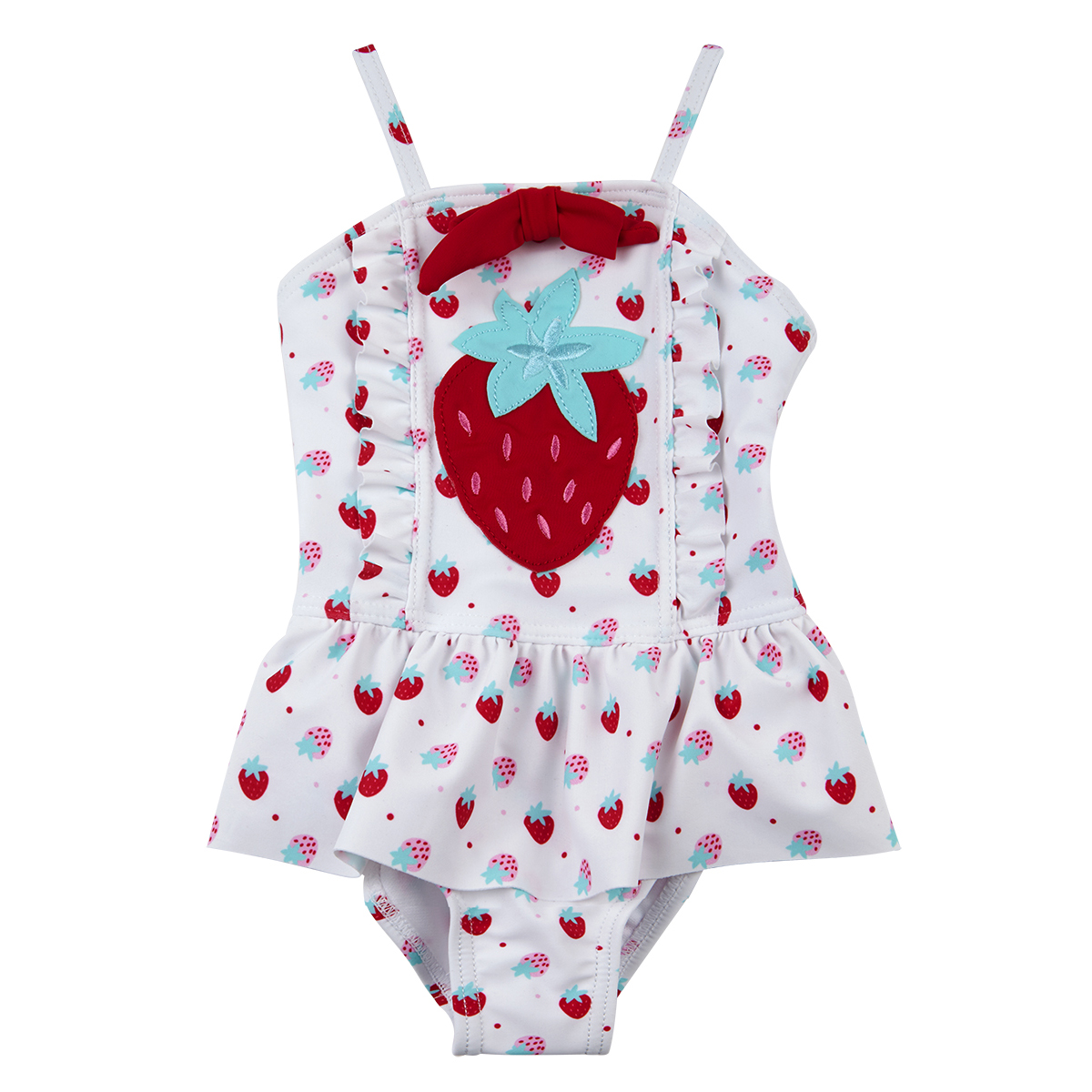 Baby Girls Toddler Swimming Costume Swimwear 3-24 Months Strawberry By BABYTOWN  sc 1 st  eBay : baby swimming costumes  - Germanpascual.Com