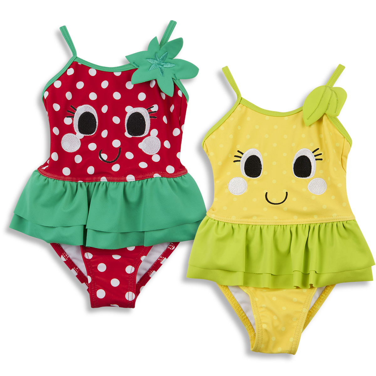 b70d193a0 Baby Babies Girls Novelty Fruit Swimming Costume Swim Suit 3-24 Months  BABYTOWN