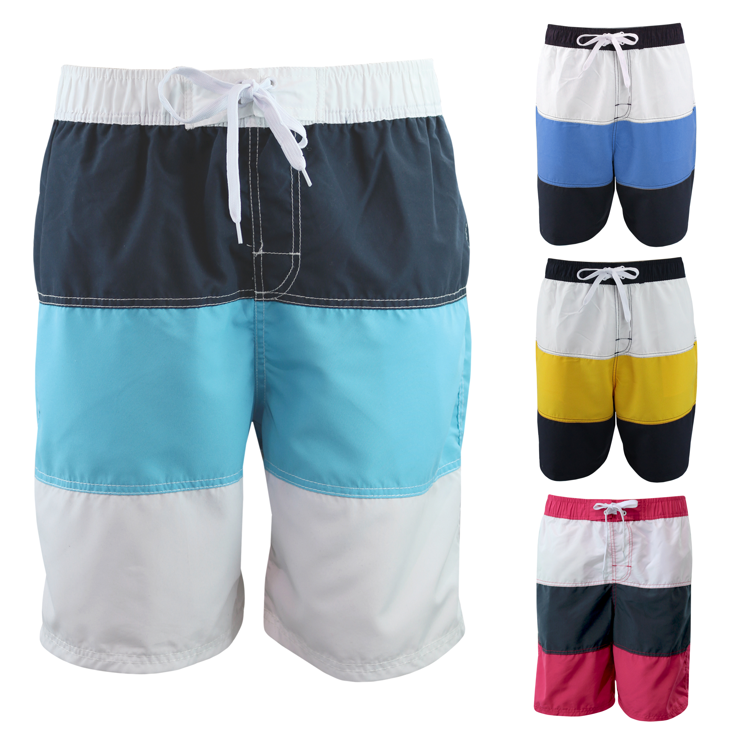 88d7ef51ad Details about CARGO BAY Mens Swimming Board Shorts Swim Trunks Beach  Holiday Swimwear Summer