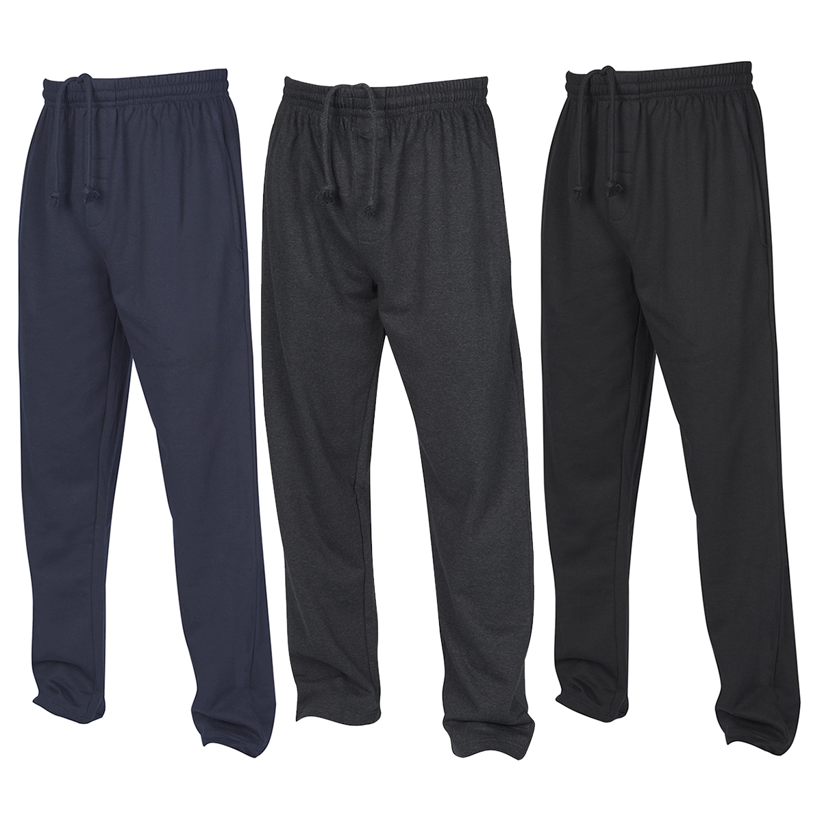 Mens Joggers Jogging Sweat Pants Tracksuit Bottoms Elasticated Waist NEW UK 1436692f5d3
