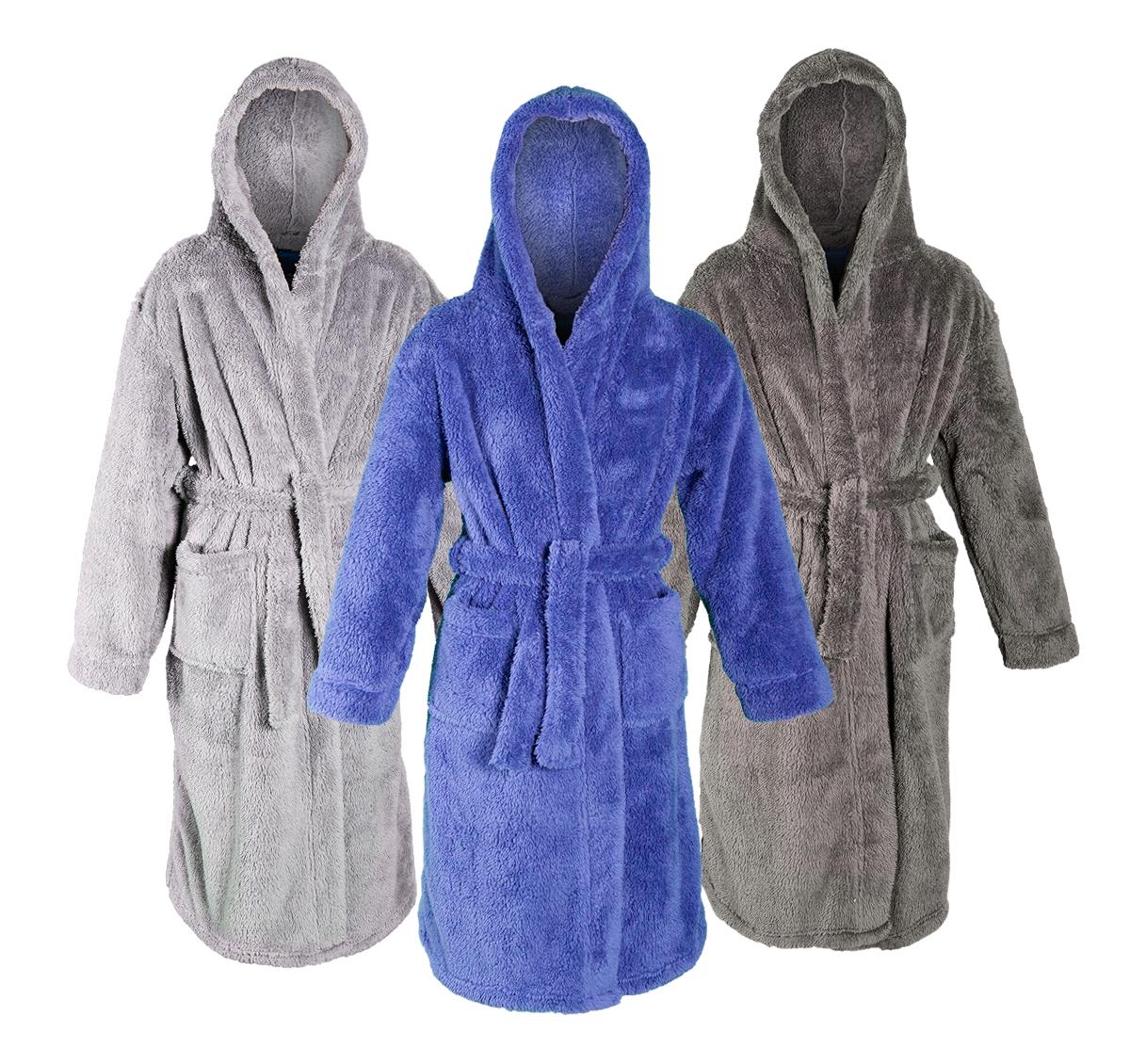 MINIKIDZ Childrens Kids Boys Dressing Gown Robes a37a5a050