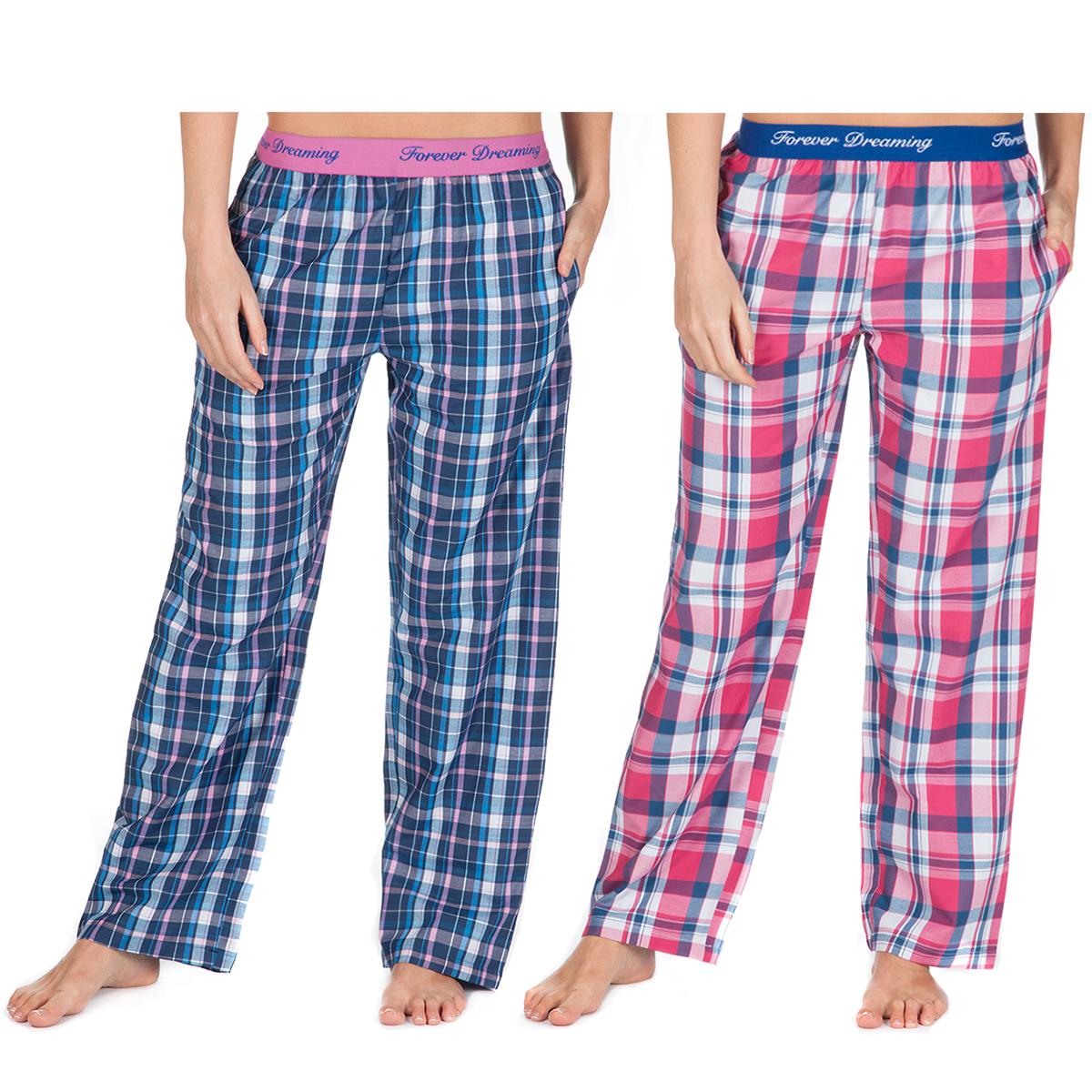 8323a43bb Women s Ladies Lounge Pants Pyjama Bottoms Check PJs Night Trousers Jacquard
