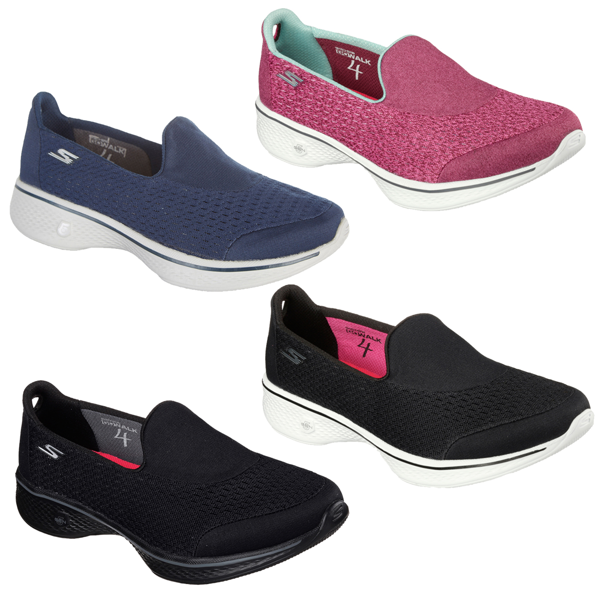 Slip On Trainers Memory Foam