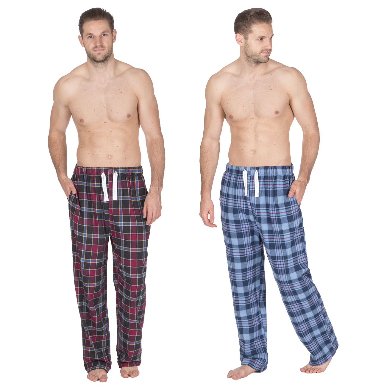 Cargo Bay Mens Christmas Jersey Pyjamas Lounge Set