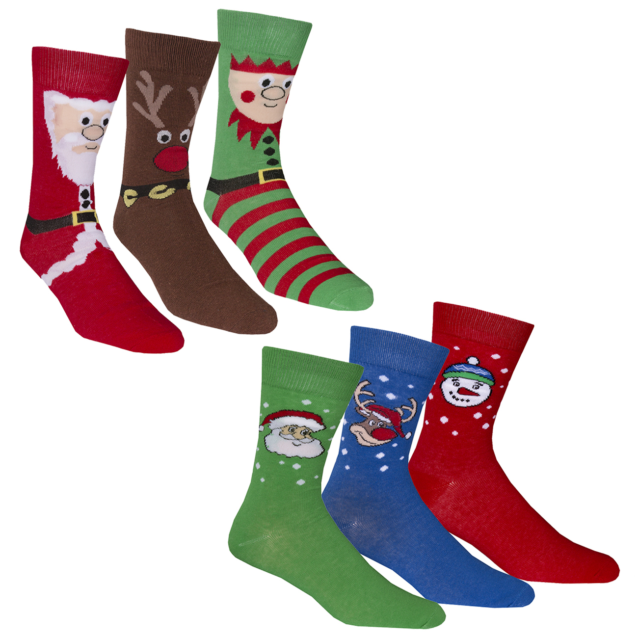 Mens Christmas Socks.Details About Mens Novelty Christmas Socks Xmas Cotton Rich Festive Gift Hosiery 3 6 Pairs New