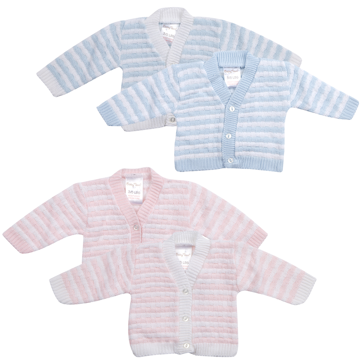 3fefcb2426ac Premature Baby Boy Girl Crochet Knitted Cardigan Button Up ...