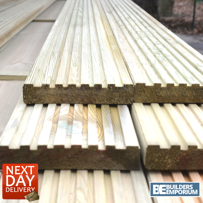 Treated timber decking boards 26x145mm 3 6m 4 8m long for 4 8 meter decking boards