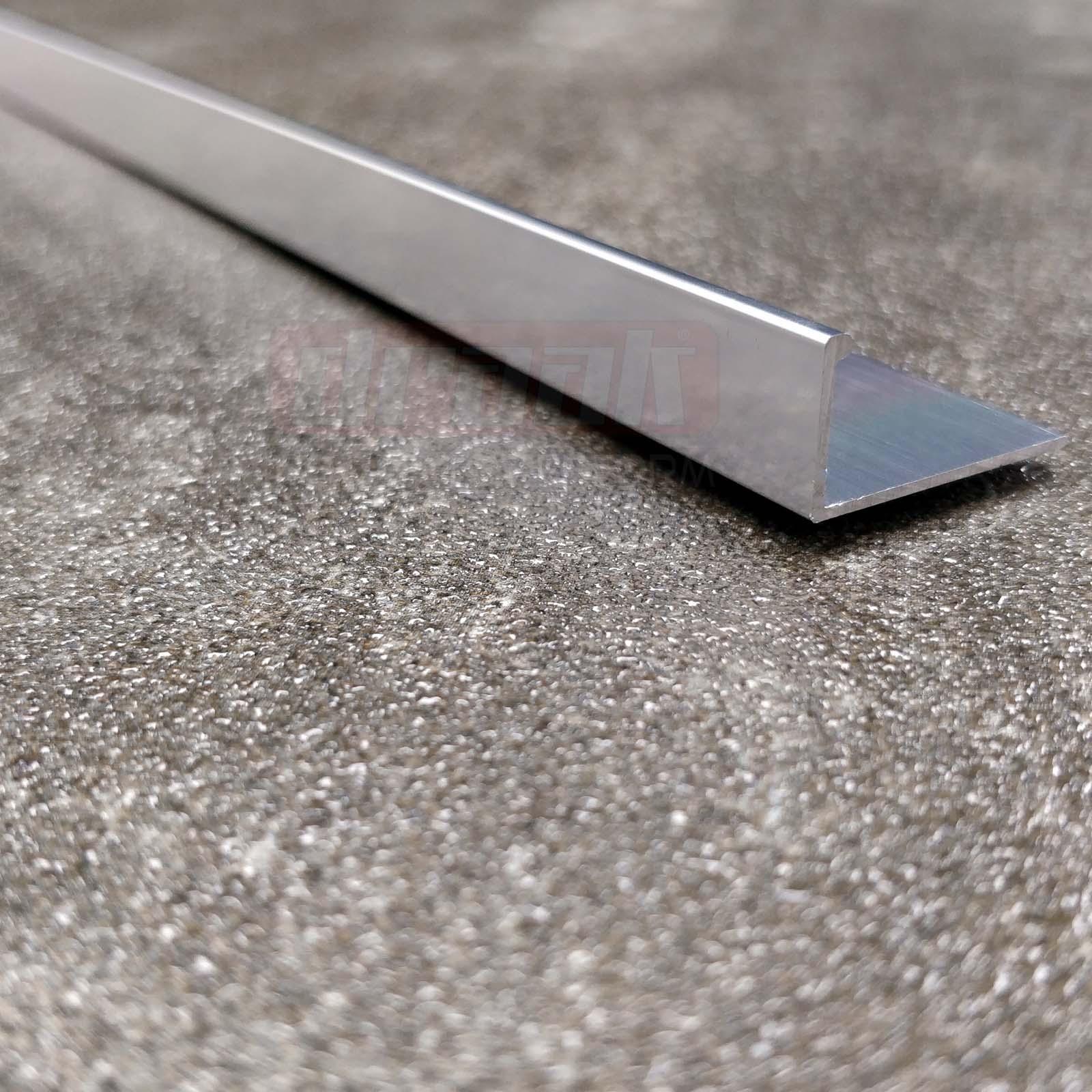 5x heavy duty tile trim l shaped or round edge. Black Bedroom Furniture Sets. Home Design Ideas