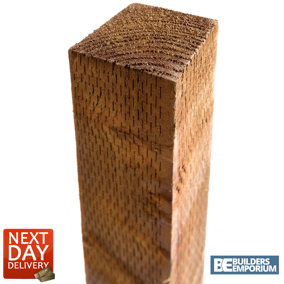 """Timber TREATED Fence Posts 3"""" x 3"""" x 6ft (1.8m ) Long ..."""
