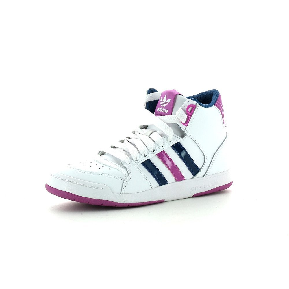 premium selection 7c9b5 b5235 Womens Adidas Midiru Court Mid 2 White Hi-Top Fashion Trainers Boots Size  3-9 UK
