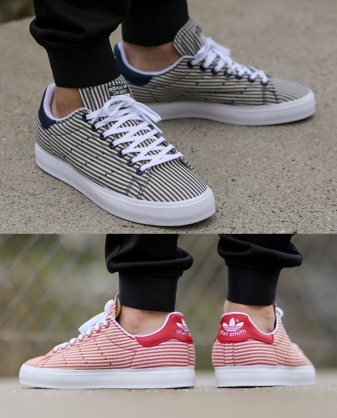 NUOVO-Adidas-Stan-Smith-Vulc-PIN-STRIPE-RARA-