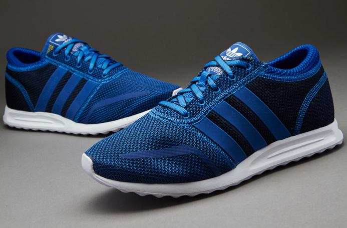 adidas originals blue trainers