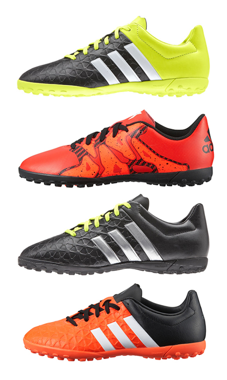 sale retailer 8a961 7820c Adidas Kids Boys Junior X 15.4 Ace Football Astro Turf Boots Trainers Size  13-6