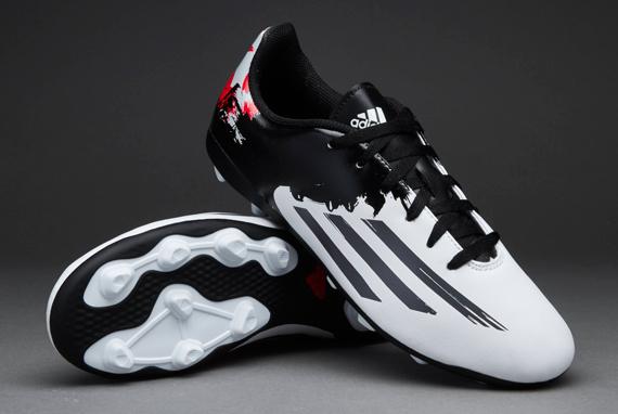 f14aa42805 New Boys Adidas Lionel Messi Black 10.4 FG Junior Football Studs Soccer  Boots