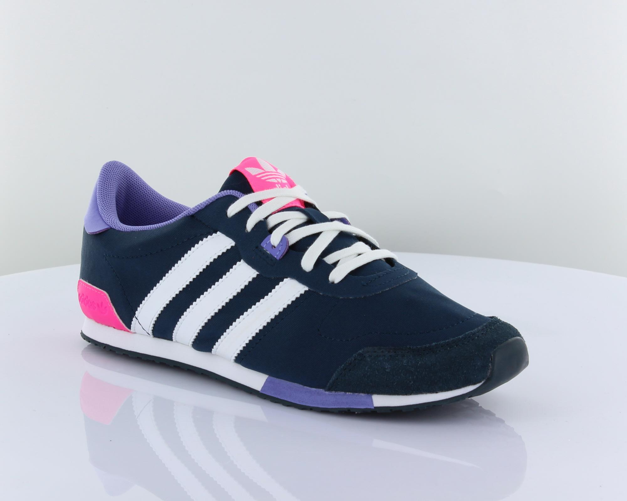 Adidas ZX 700 BE LO W Navy Purple Pink Womens Retro Casual Shoes Sneakers M19384