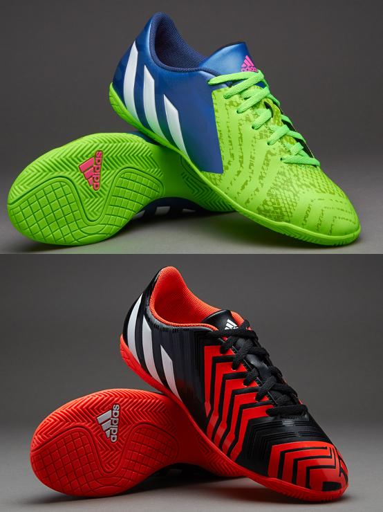 eed60f1dc619 adidas Predito Instinct Indoor Football Sports Trainers Shoes Junior Boys  Kids
