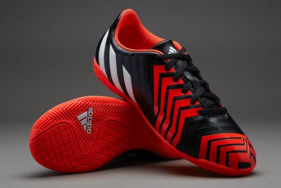 27f950097 adidas Predito Instinct Indoor Football Sports Trainers Shoes Junior ...