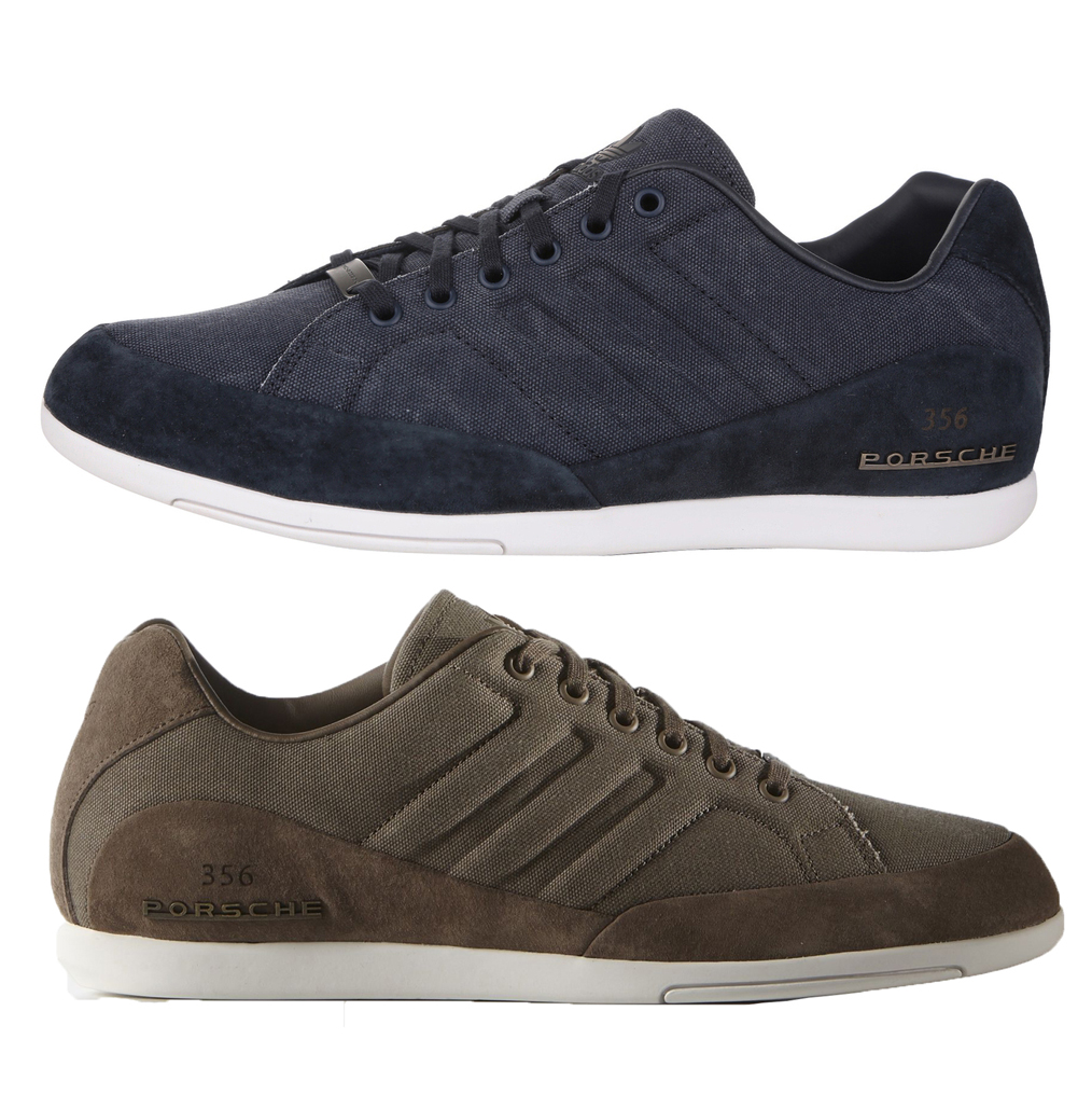 Mens-adidas-Porsche-356-1-2-Leather-Textile-