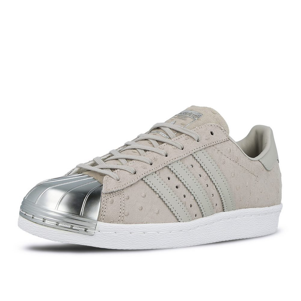 Adidas Damenschuhe Superstar 80's 80's Superstar Metal Toe Clear Grau Leder Schuhes debfaf