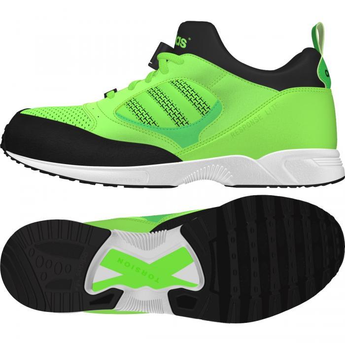 uomo adidas torsion ORIGINALE Response Lite acceso Verde Scarpe da ginnastica Scarpe classiche da uomo
