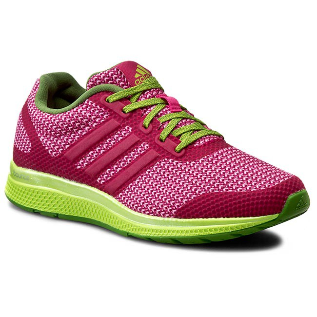 adidas adidas adidas Womens Mana Bounce Pink Running Shoes Fitness Gym Trainers bc0a94