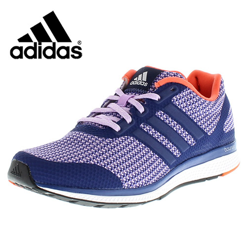 132e07a598fe adidas Womens Mana Bounce Purple Running Shoes Fitness Gym Trainers ...