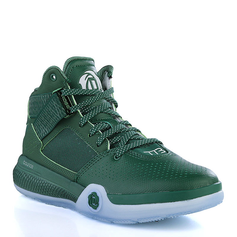 new concept 25e28 ee85f adidas Mens D Rose 773 Basketball Shoes Trainers Dark Green Smart Sneakers