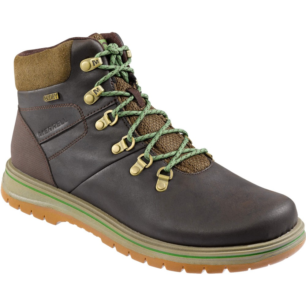 Merrell-Mens-Bounder-Mid-Thermo-Waterproof-Hiking-Walking-Boots-Espresso-Brown