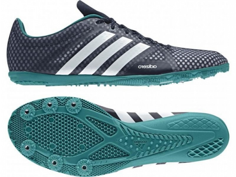 size 40 503ea bd40b Womens adidas Adizero Ambition 3 Running Metal Spikes Track Field Shoes Navy