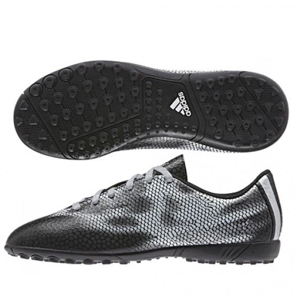 adidas unisex bambini f5 tf football stivali neri e bianchi scarpe