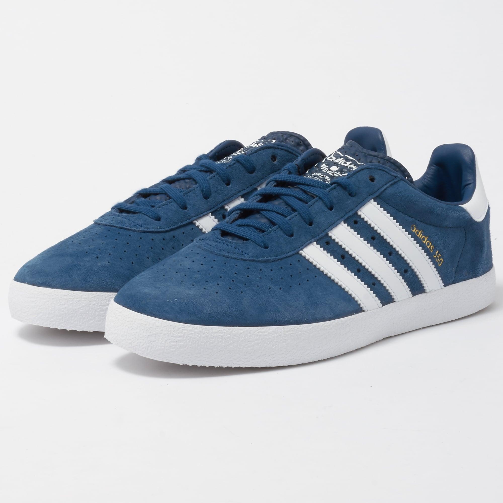 Neue adidas leder 350 männer ausbilder casual schuhe leder adidas blaue nacht by9764 50e1f6