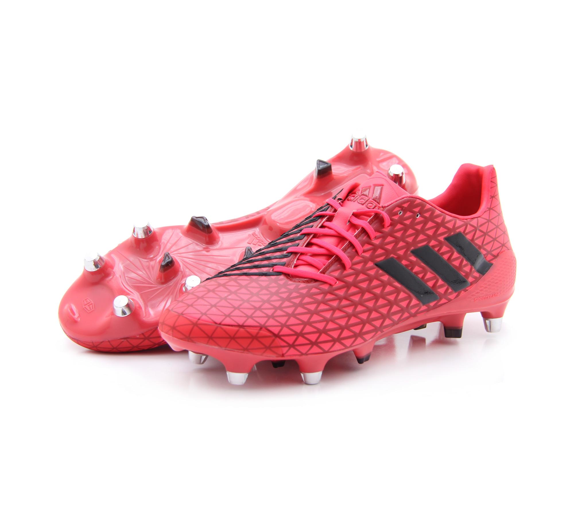 972723cef0c8aa ... shop mens adidas predator malice sg soft ground rugby studs boots red  black aq2055 59f14 acf2f