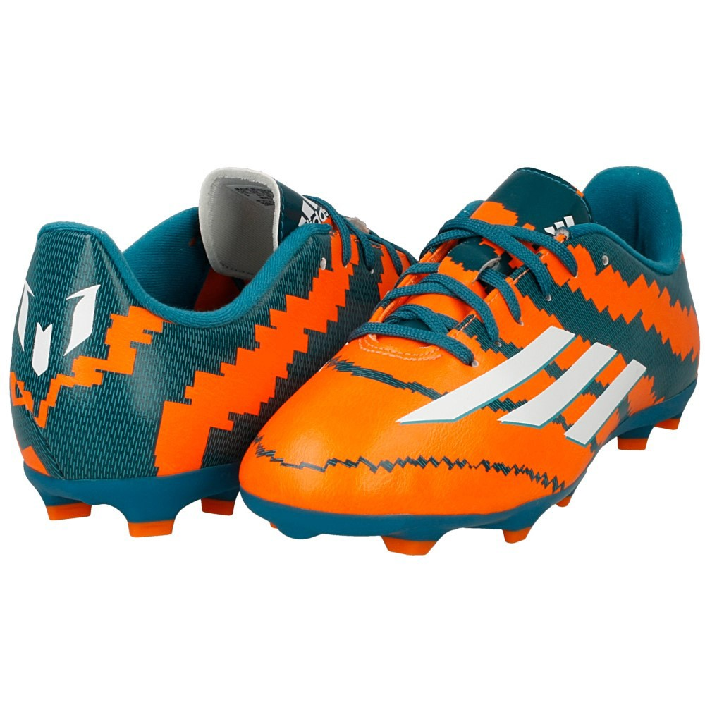 31b0a1c9abcf New adidas Messi 10.3 FG Performance Junior Kids Football Boots Orange Green