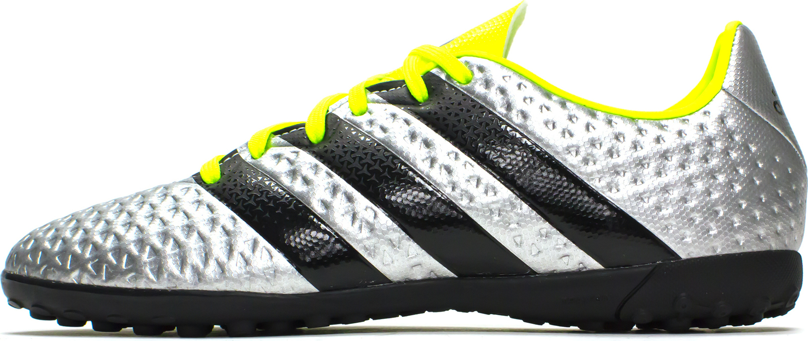 low priced 504a5 03274 Details about adidas Kids Boys Junior X 16.4 Ace Football Astro Turf Boots  Trainers Silver