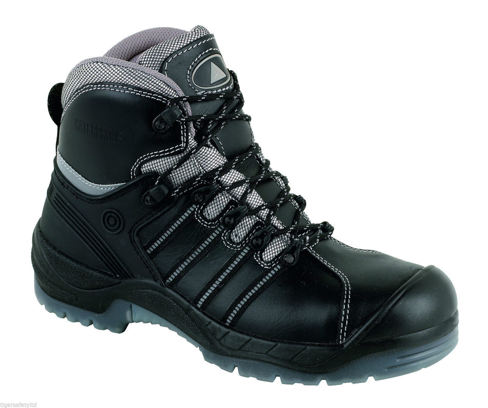 Delta Plus Nomad LH657CM S3 Brown Waterproof Mens Safety Toe Cap Work Boots PPE