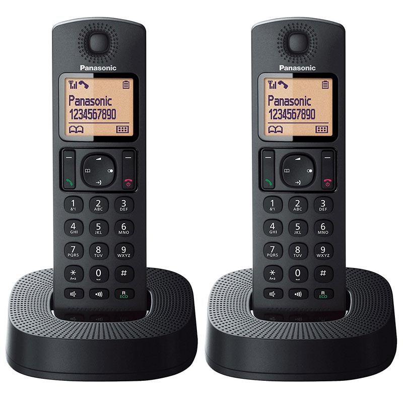 Details about Panasonic Digital Cordless Home Dect Phone Black New  KX-TGC312EB