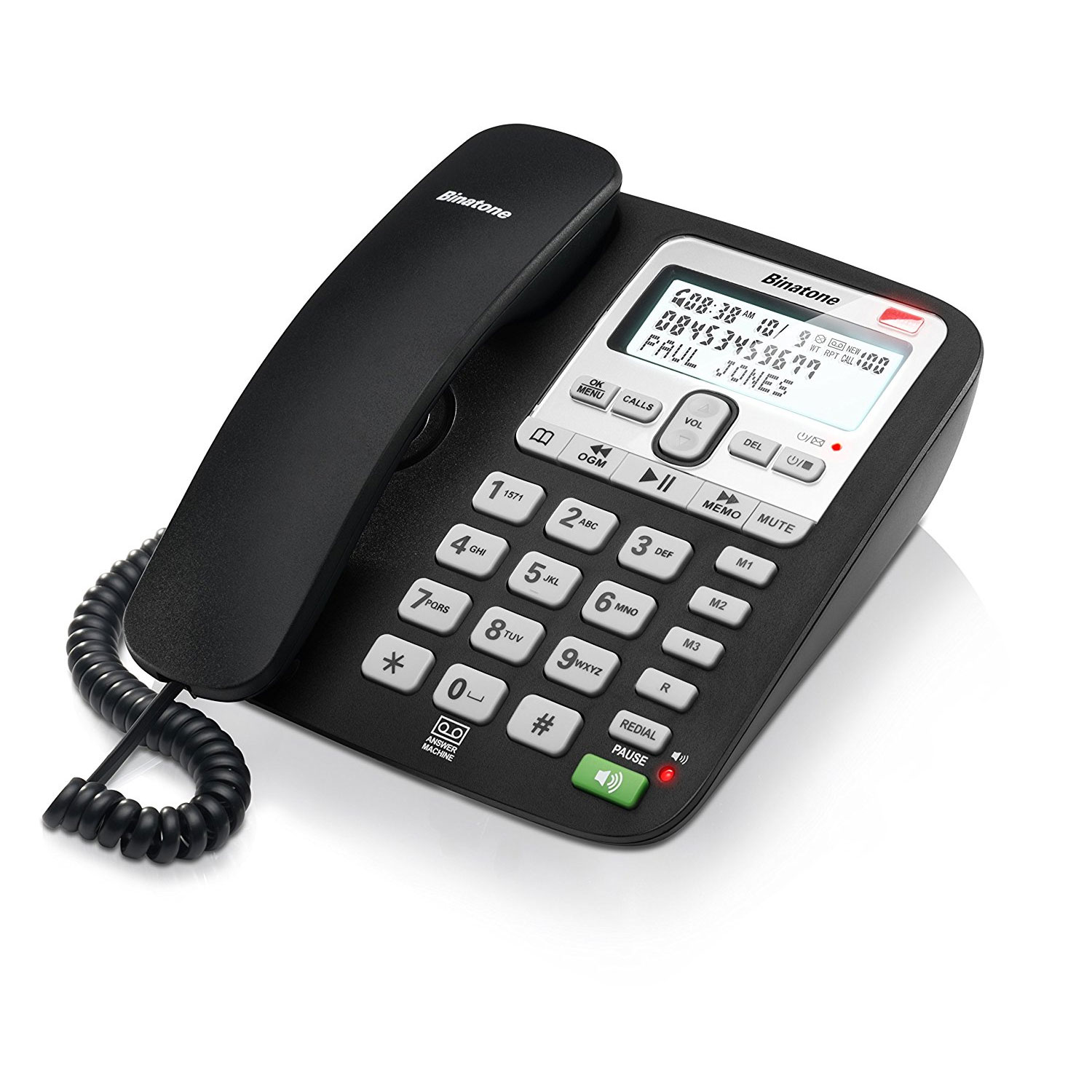 Binatone Acura 3000 Corded Desktop Phone With Call Blocker
