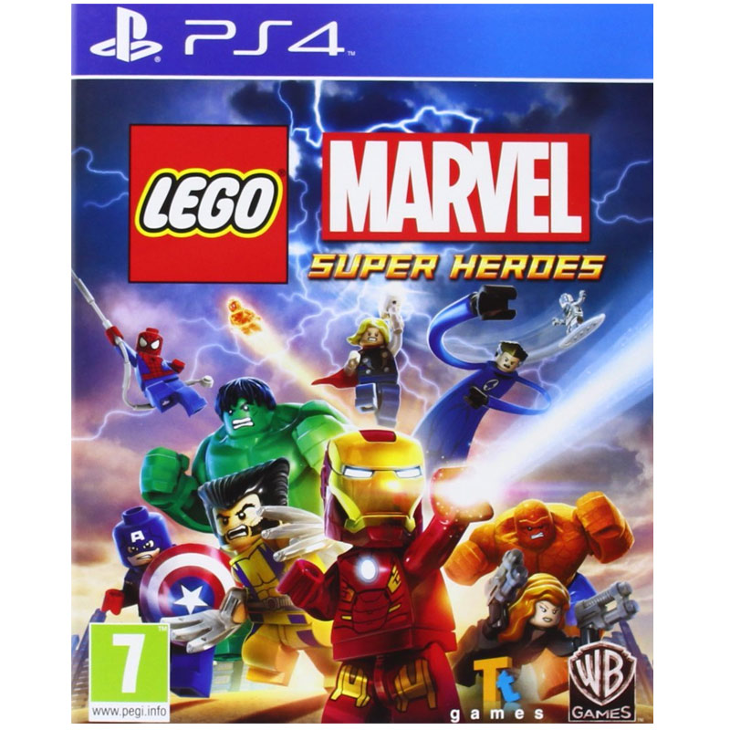 lego marvel super heroes video spiel f r sony ps4 spiele. Black Bedroom Furniture Sets. Home Design Ideas