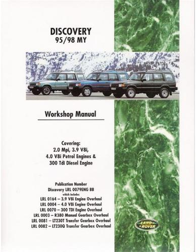 land rover discovery 1995 1998 model 95 98 my year workshop repair rh ebay com Land Rover Discovery Owner's Manual Resource Land Rover