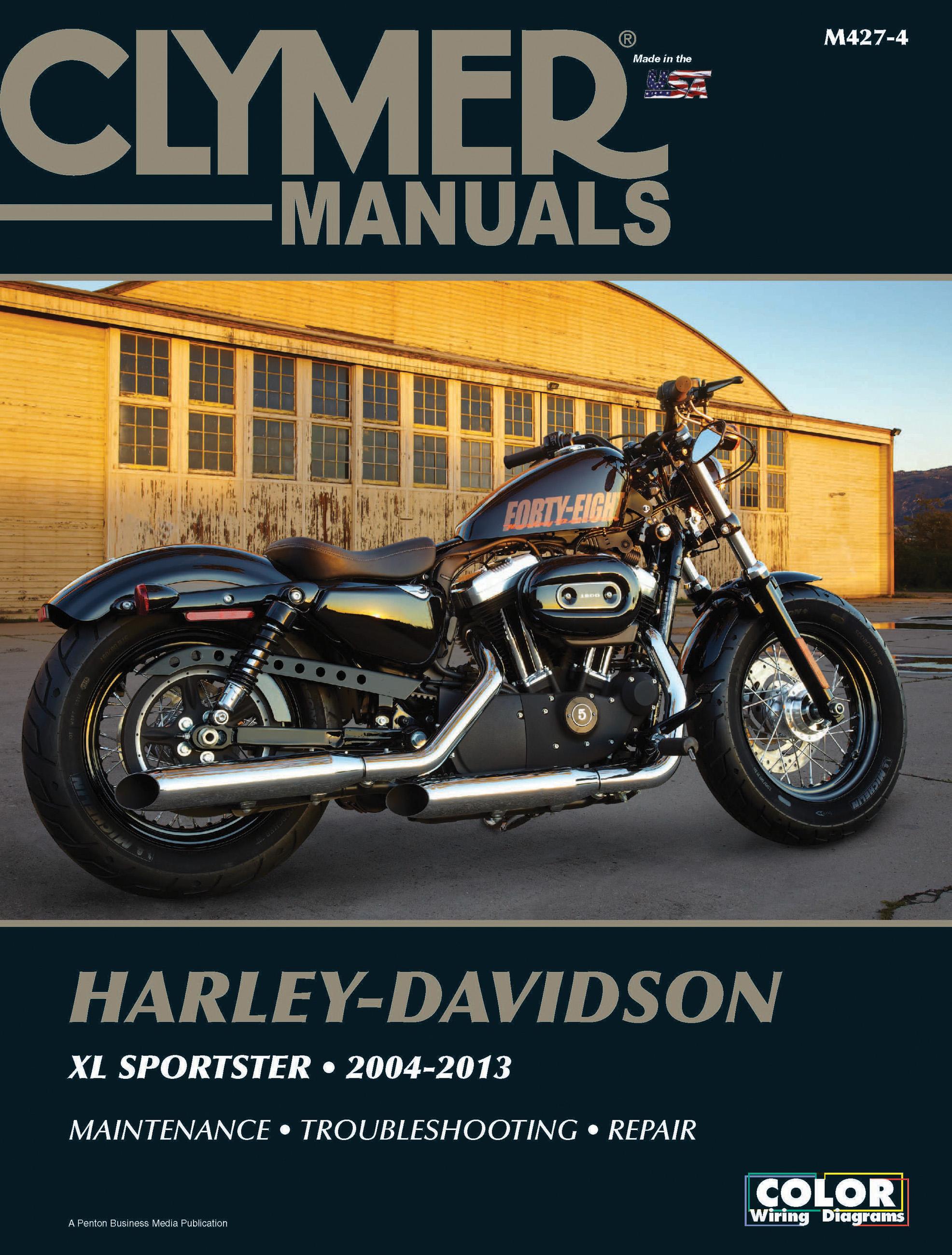 Clymer Workshop Manual Harley Davidson XL//XLH Sportster 1986-2003 Service Repair