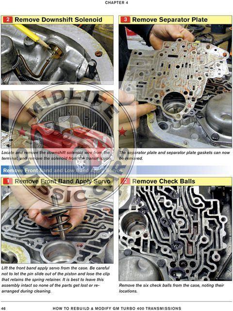 how to rebuild or modify chevy turbo 400 th400 transmission manual rh ebay com Turbo 400 Transmission Parts Chevy Turbo 400 Transmission