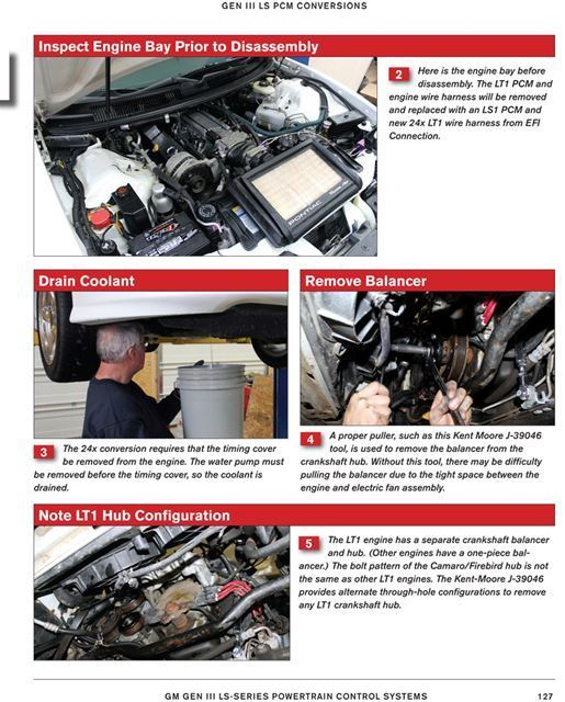 sentinel how to swap chevy gm ls lt series powertrain control systems ls1  ls7 lt1 lt4