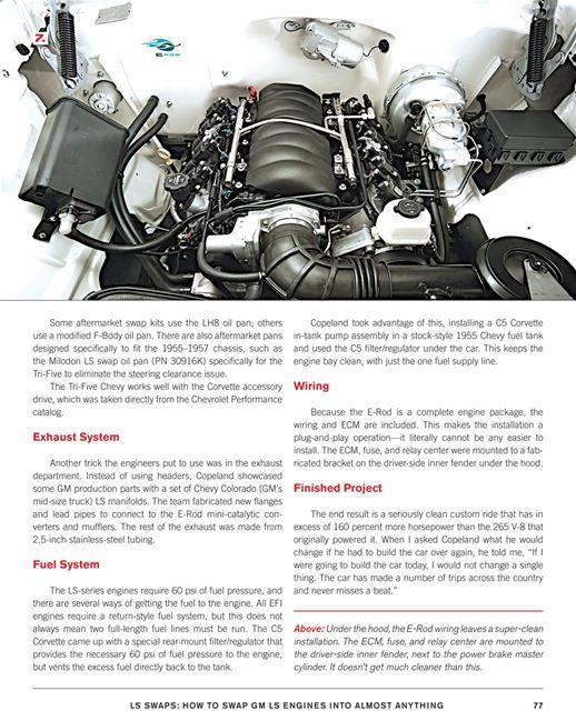 Original Ls6 Engine: How To Swap CHEVROLET GM LS1 LS3 LS6 LS7 Series Engines