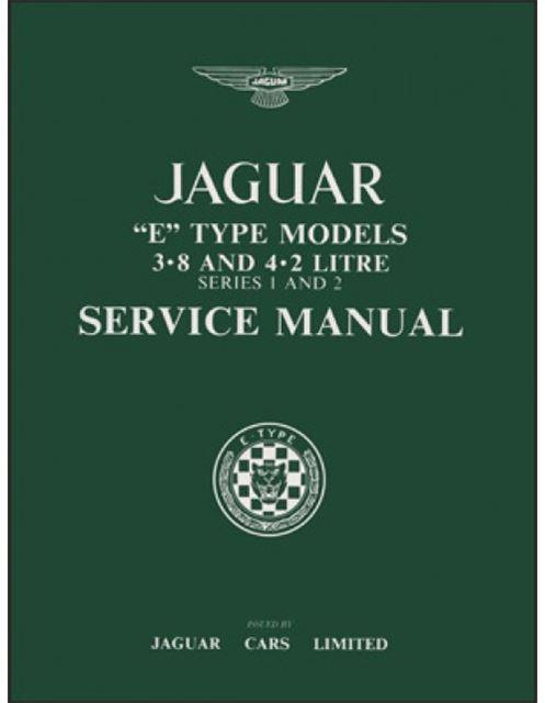 jaguar e type 3 8 4 2 series 1 2 service manual ebay rh ebay com jaguar xk owners manual jaguar xk owners manual 2007