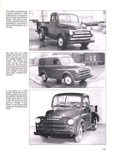Dodge b series pickup truck originality guide 1948 1949 1950 1951 sentinel dodge b series pickup truck originality guide 1948 1949 1950 1951 1952 1953 publicscrutiny Gallery