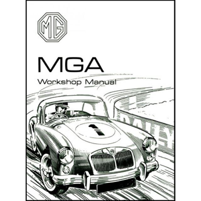 mga repair shop manual 1955 1956 1957 1958 1959 1960 1961 1962 inc  wiring mg